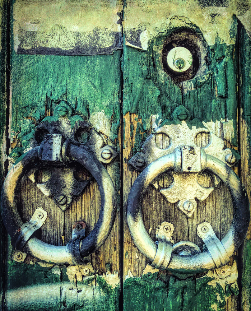 Philly Door Knockers|Fine Art Photography by Todd Breitling|ToddBreitlingArt.com