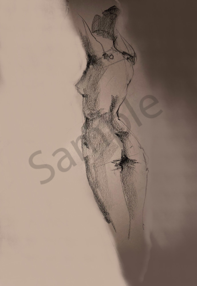 Kelly Bandalos / Figure Sketch 1059