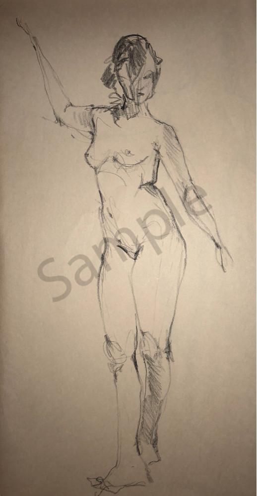 Kelly Bandalos / Figure Sketch 1053