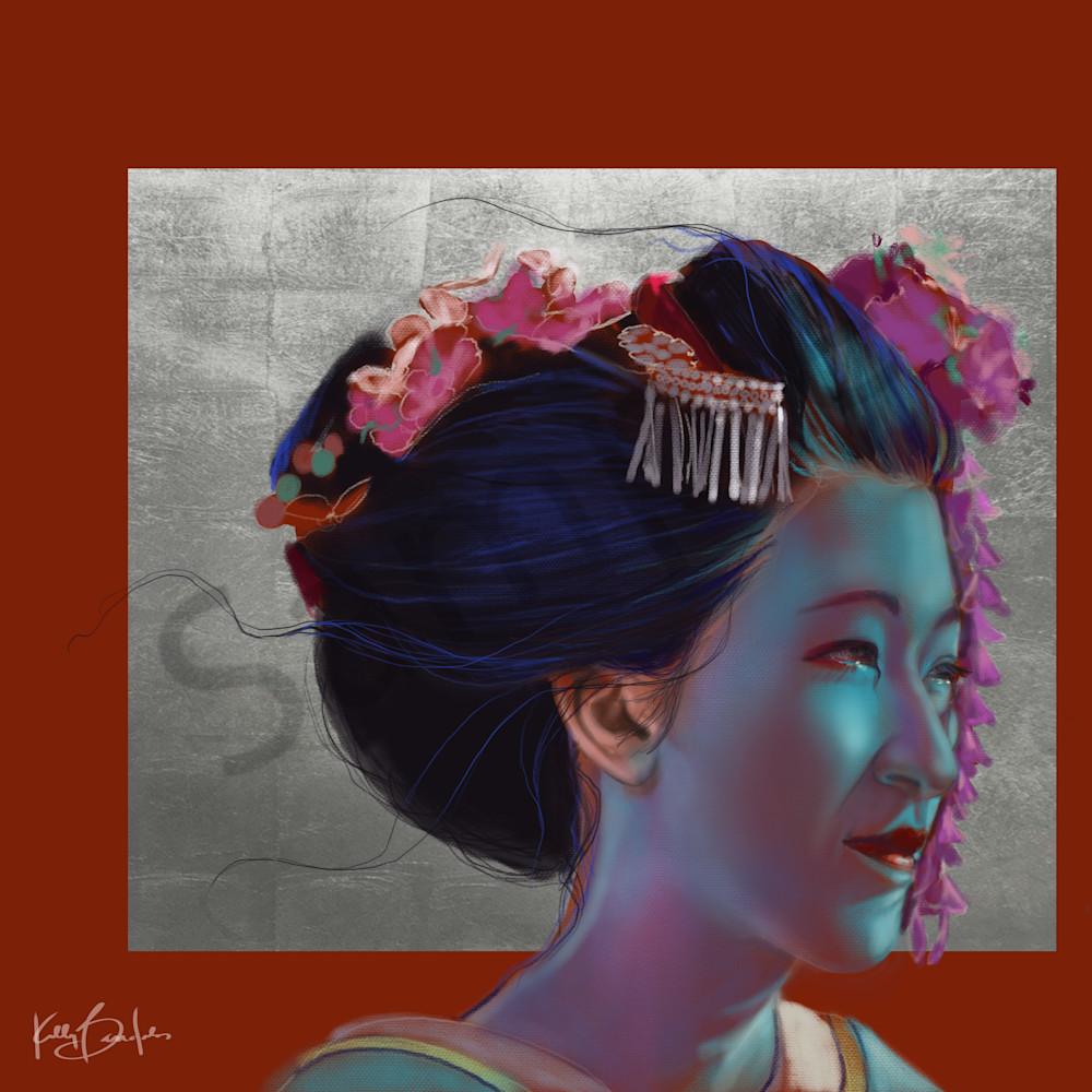 Kelly Bandalos / Cool Silver Geisha