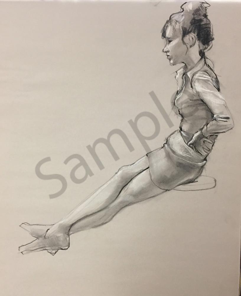Kelly Bandalos / Figure Sketch 1061