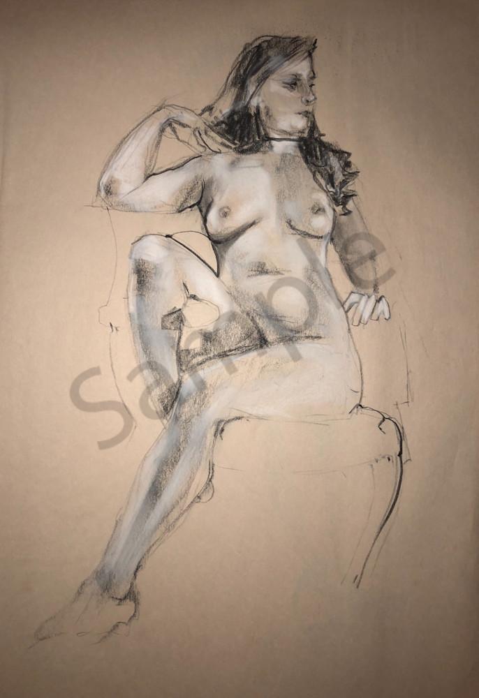 Kelly Bandalos / Figure Sketch 1062
