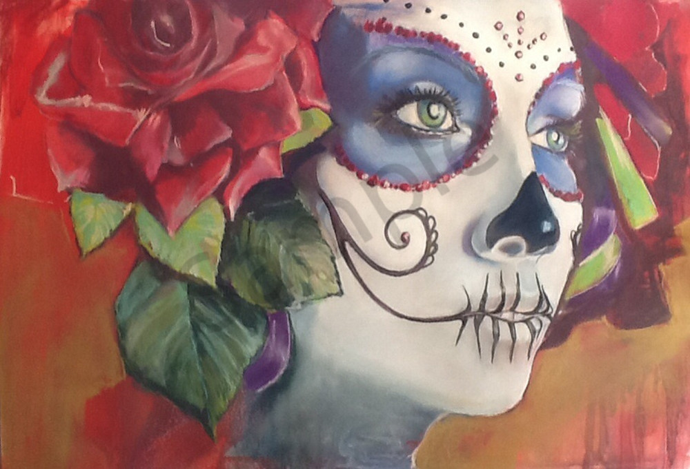 Kelly Bandalos / Red Rose Catrina