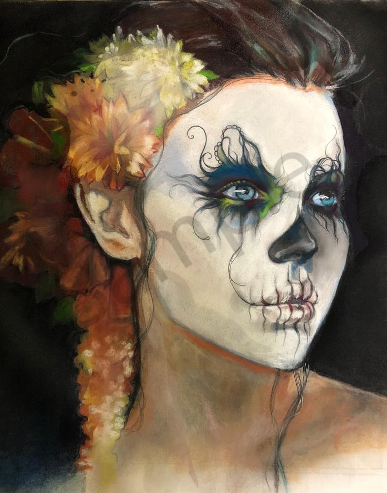 Mictēcacihuātl  Art | Kelly Bandalos Studios