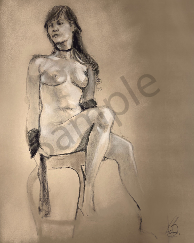 Kelly Bandalos / Figure Sketch 1058