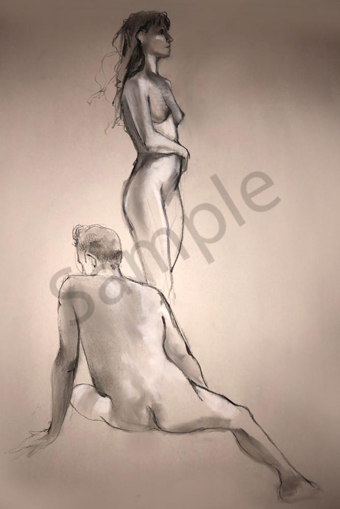 Kelly Bandalos / Figure Sketch 1051
