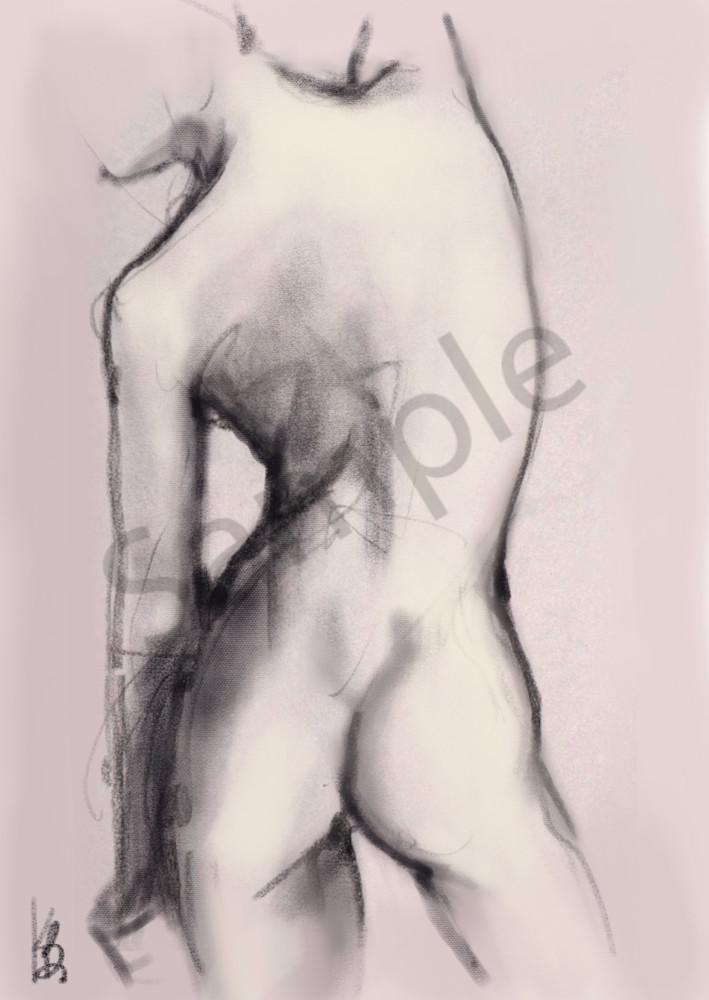 Kelly Bandalos / Figure Sketch 1054