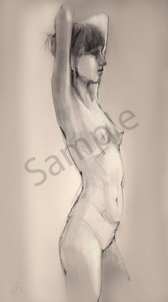 Kelly Bandalos / Figure Sketch 1064
