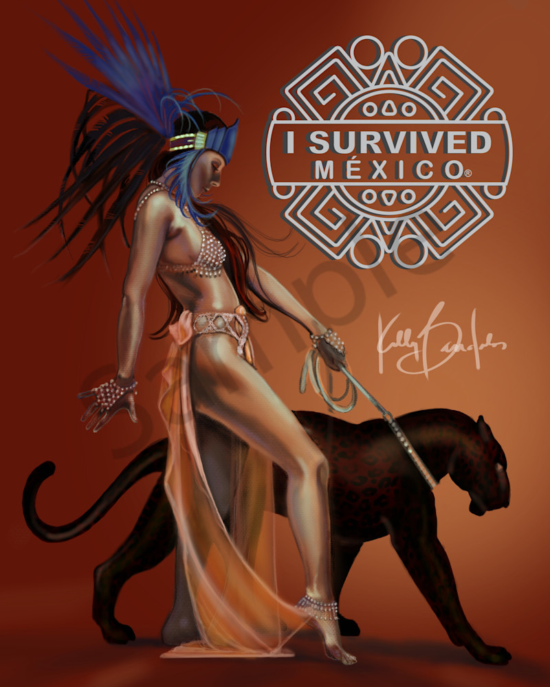 Kelly Bandalos / Branding Figure for I Survived Mexico