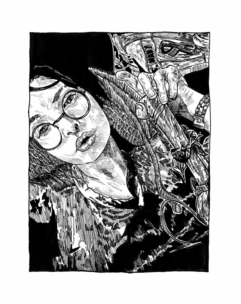 Uh Vagabond Art | C.E. Zacherl Illustrations