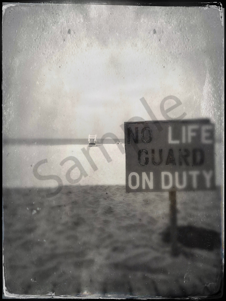 No Life Guard On Duty|Fine Art Photography by Todd Breitling