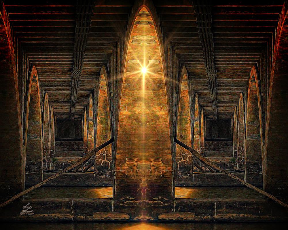 """Under The Bridge"" by digital artist John W. Lewis | Prophetics Gallery"