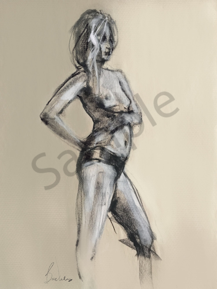 Kelly Bandalos / Figure Sketch 1056