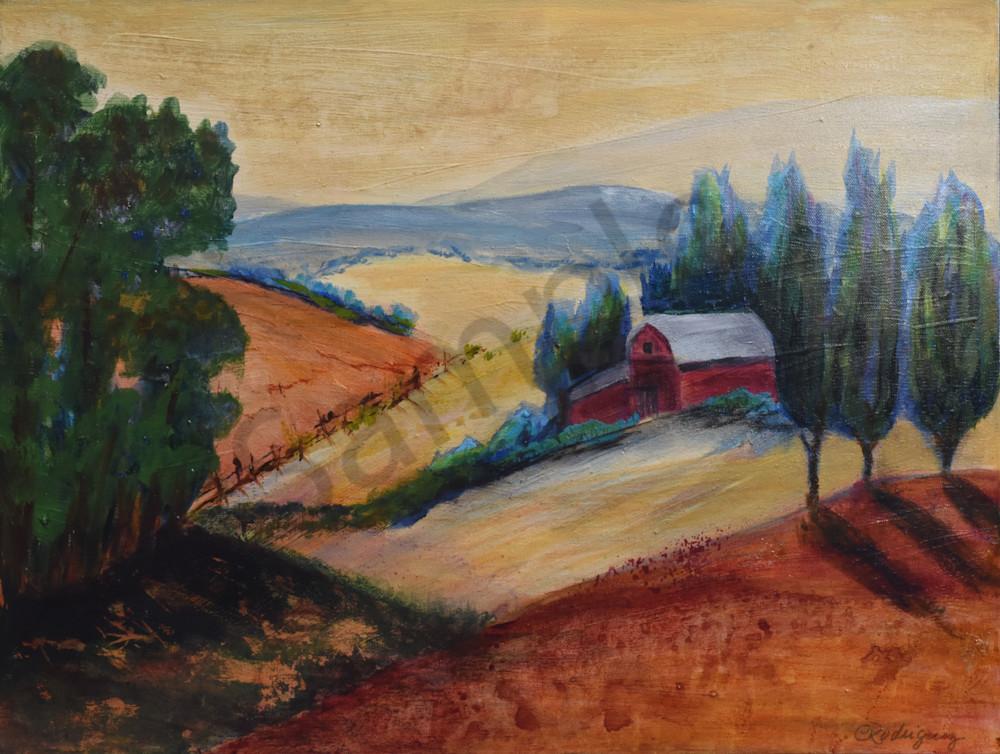 Olema Farmland Art | Connie Rodriguez Fine Art