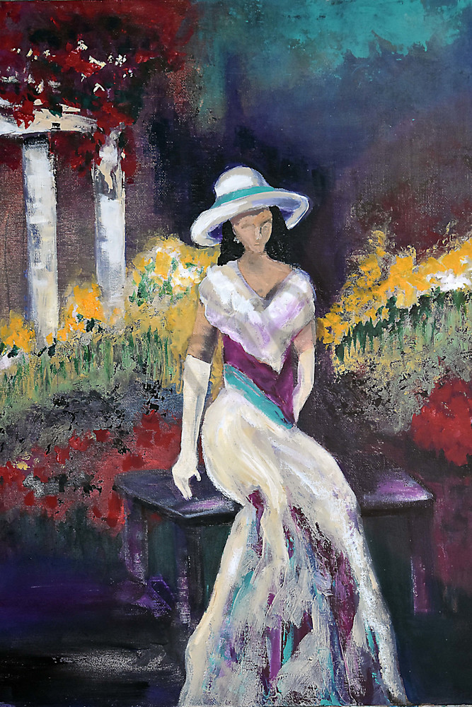 Interlude In Kensington Park Art | Connie Rodriguez Fine Art