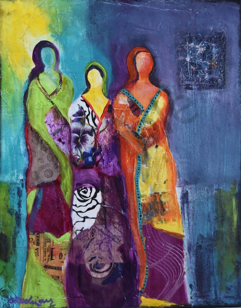 C Rodriguez.Sisterhood Art | Connie Rodriguez Fine Art