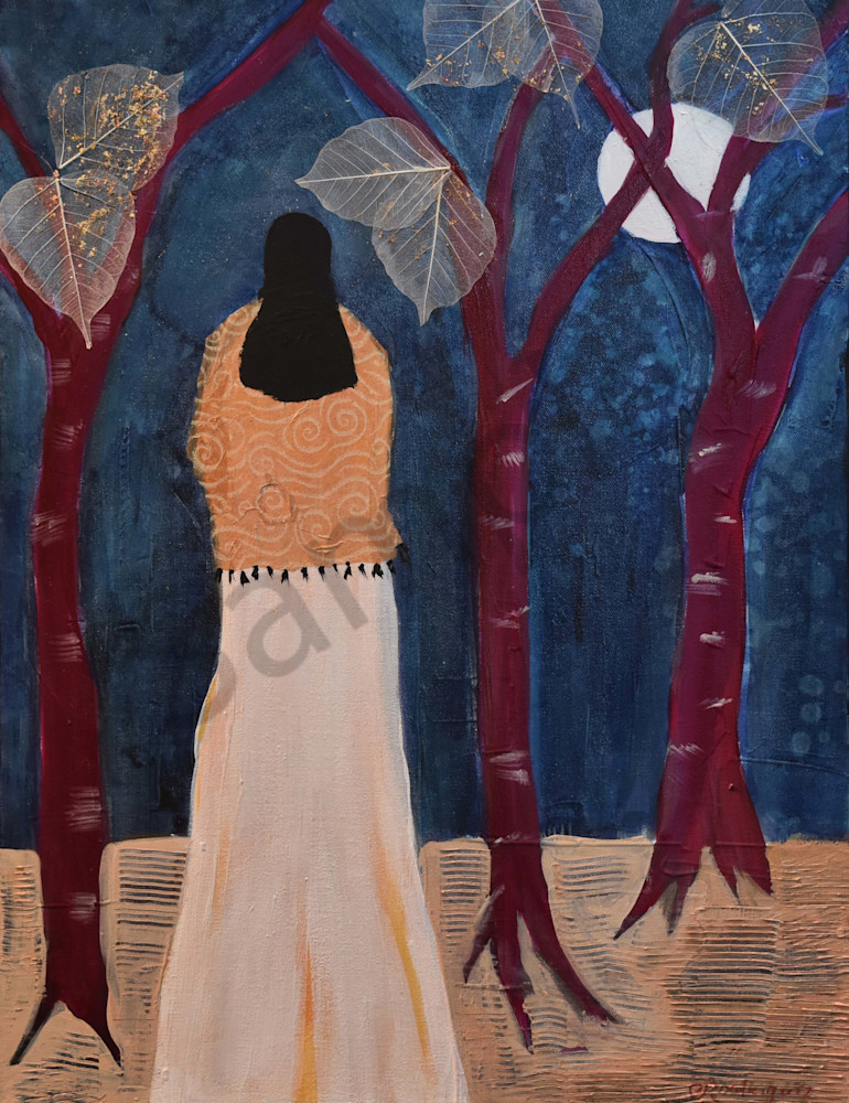 C Rodriguez.She Who Listens To The Call Art   Connie Rodriguez Fine Art