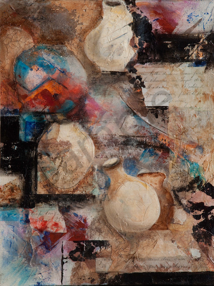 Pots And Shards Art | Connie Rodriguez Fine Art