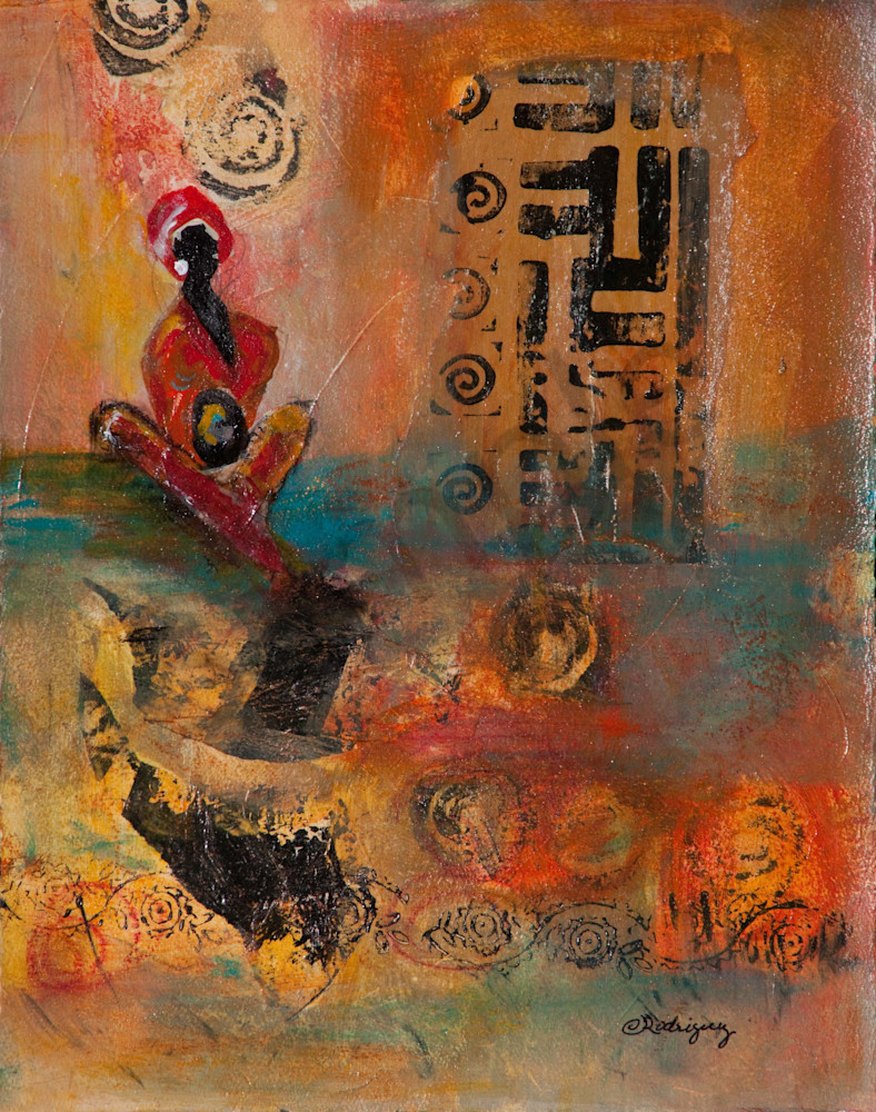 Keeper Of The Story Art | Connie Rodriguez Fine Art