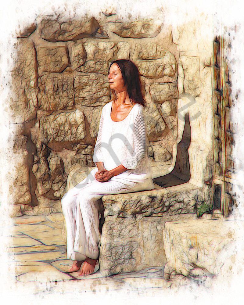 """Moment Of Peace"" by John W. Lewis 