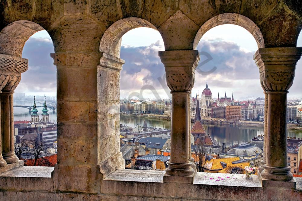 Fisherman's Bastion, Budapest, Hungary, Buda Castle, Middle Ages, Europe