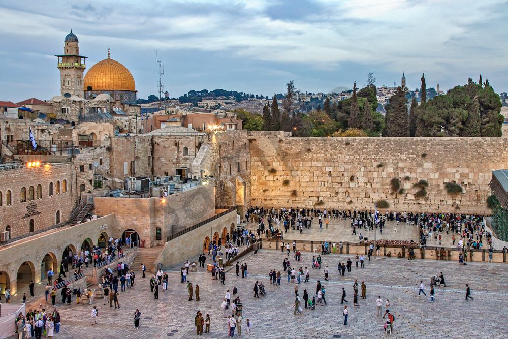 Wailing Wall, Old City of Jerusalem, Temple Mount, Holy Site, Muslim Quarter, Kotel