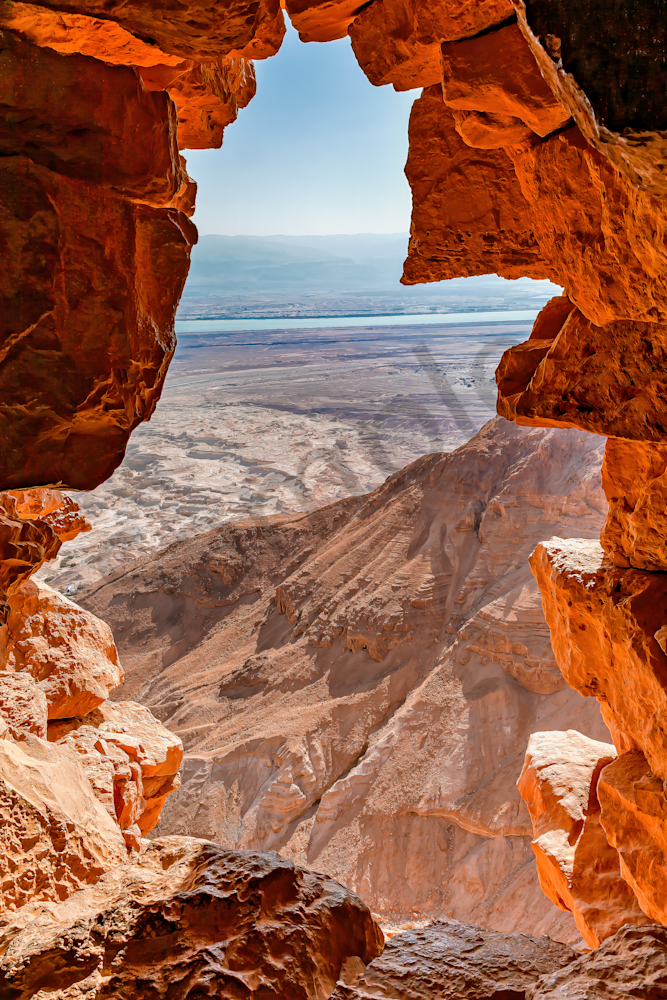 Dead Sea, Ancient Fortress, Judean Desert, Herod the Great, Roman Wars