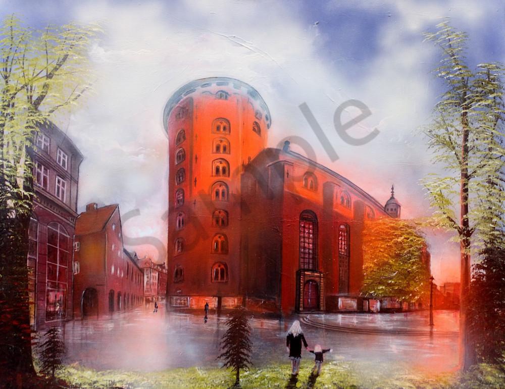 """Round Tower Copenhagen"" by Bo Schultz | Prophetics Gallery"