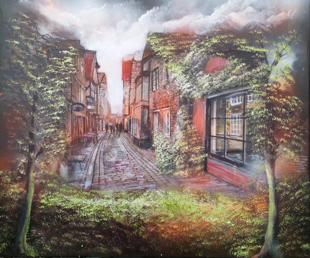 """Paris Street"" by Denmark Artist Bo Schultz | Prophetics Gallery"