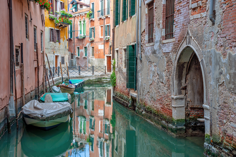 Grand Canal, Rialto Bridge, St. Mark's Basilica, Byzantine mosaics,  Piazza San Marco, Venice, Italy