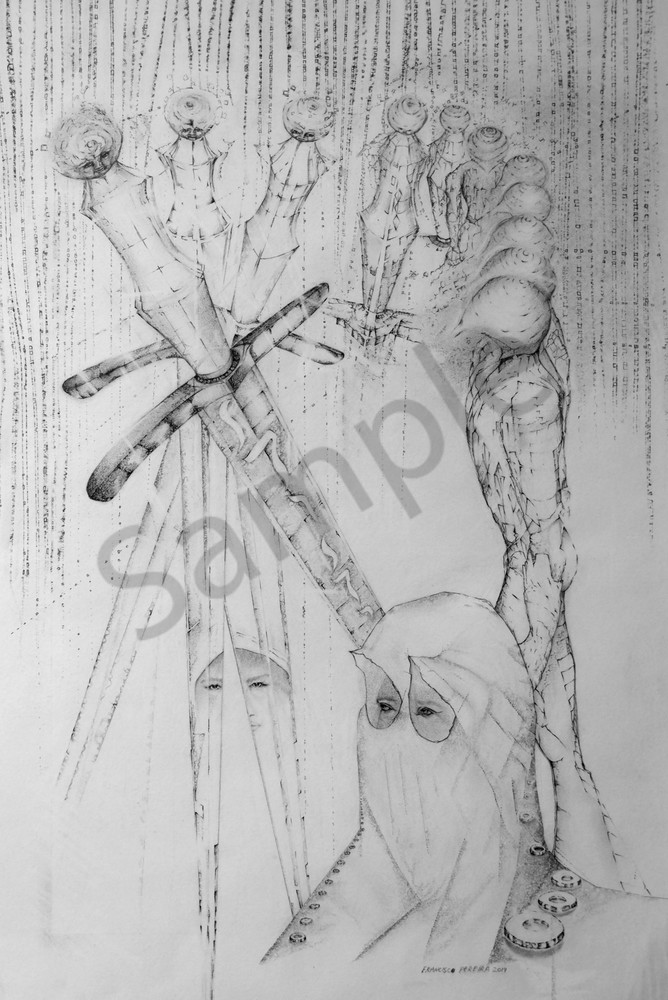 """""""The Sword Of Gideon"""" by South Africa Artist Frank Pereira 