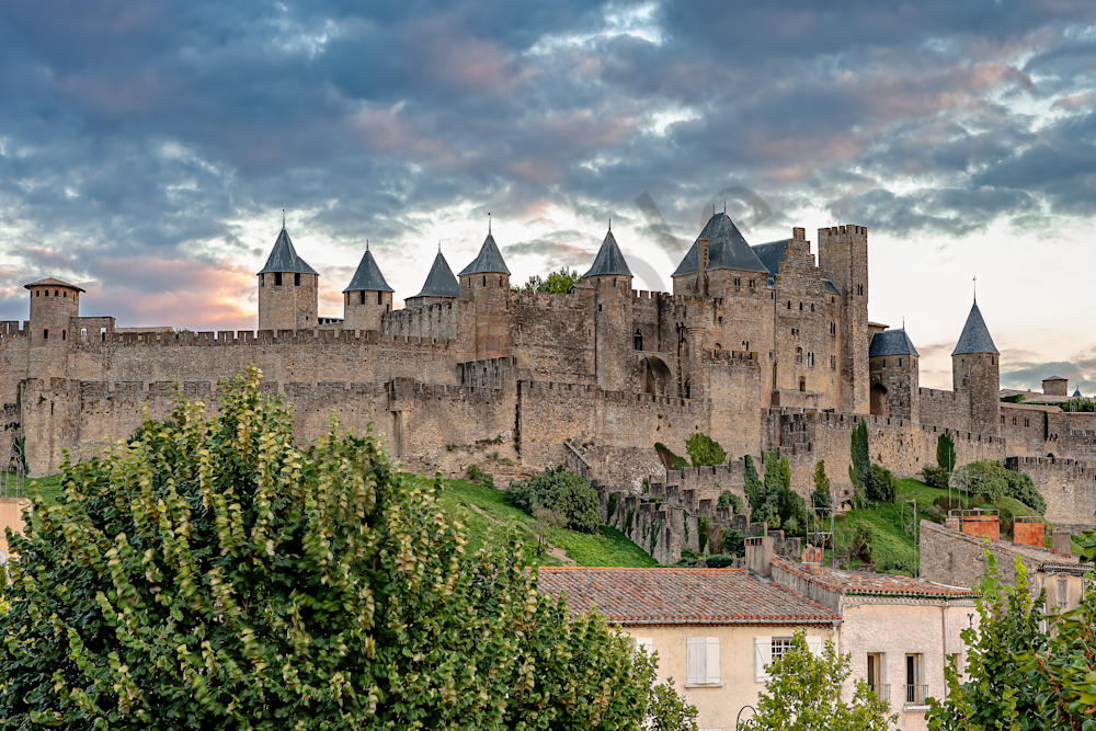 French Fortified City, Gallo-Roman times, medieval citadel,  Gothic cathedral, UNESCO list of World Heritage Sites