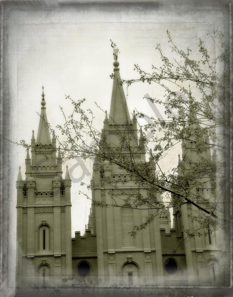 Artistic Salt Lake Temple