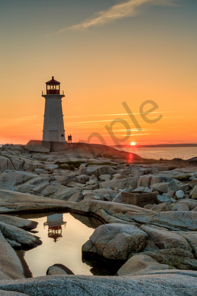 Peggy's Cove Lighthouse | Robbie George Photography