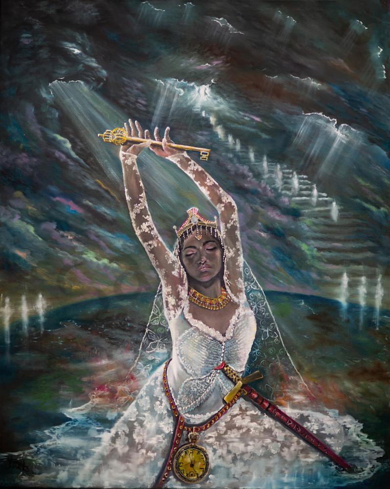 """Awakening"" by United Kingdom Artist Yvonne Coombs   Prophetics Gallery"