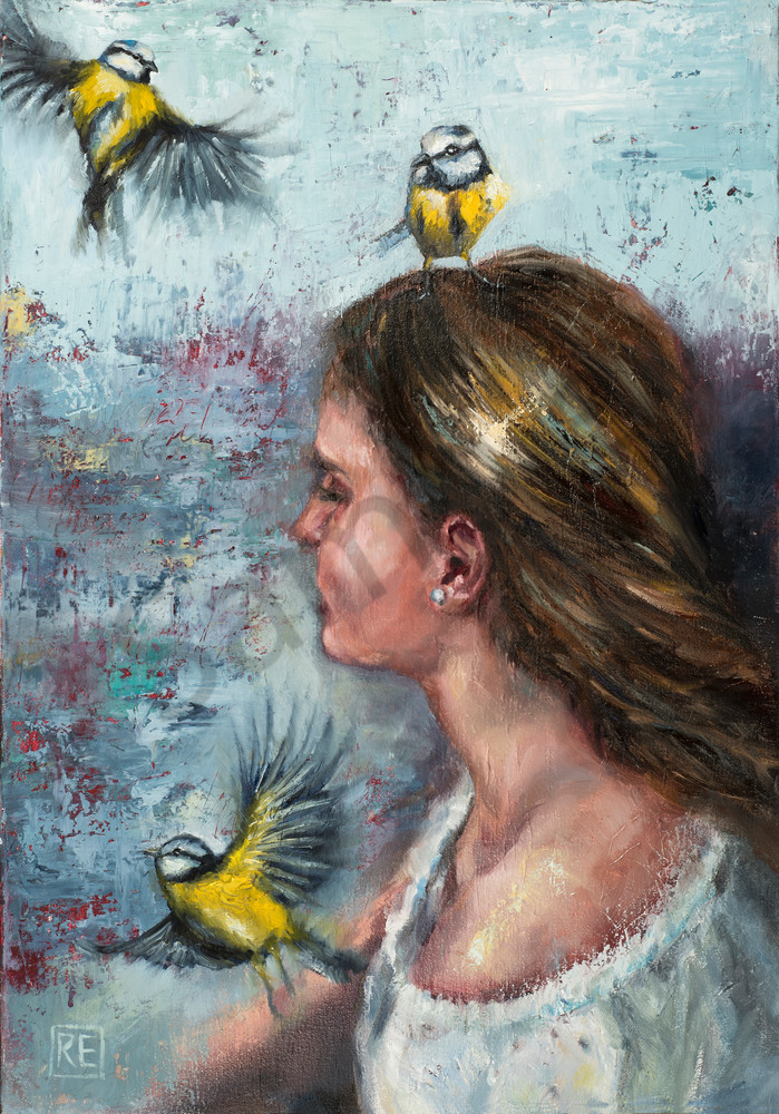 """Presence"" by South African Artist Ronel Eksteen   Prophetics Gallery"