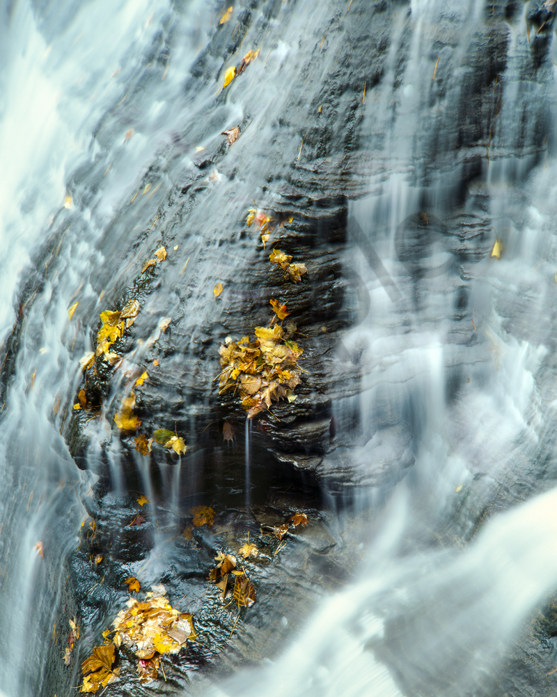 Fine Art Print | Intimate Landscape of Buttermilk Falls