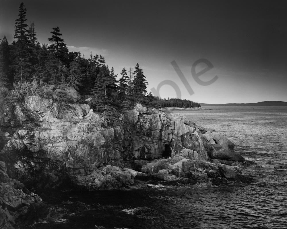 Fine Art Print | Hunters Head Point Along Acadia Coast
