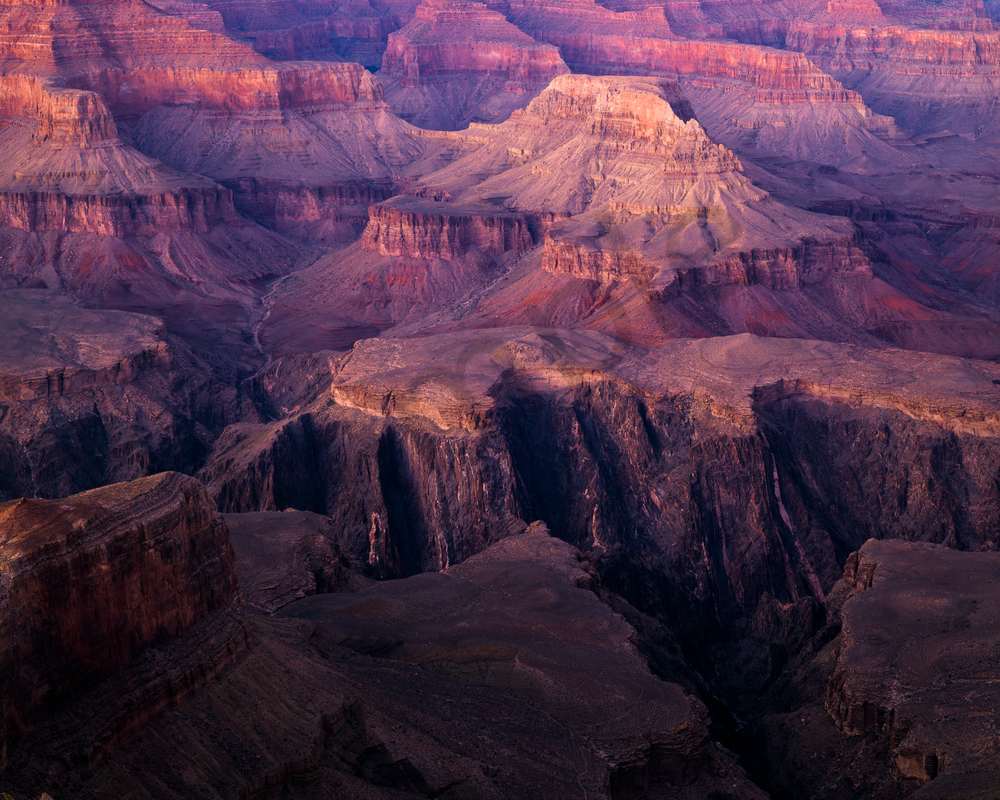 Fine Art Print | Grand Canyon Layers at Dusk
