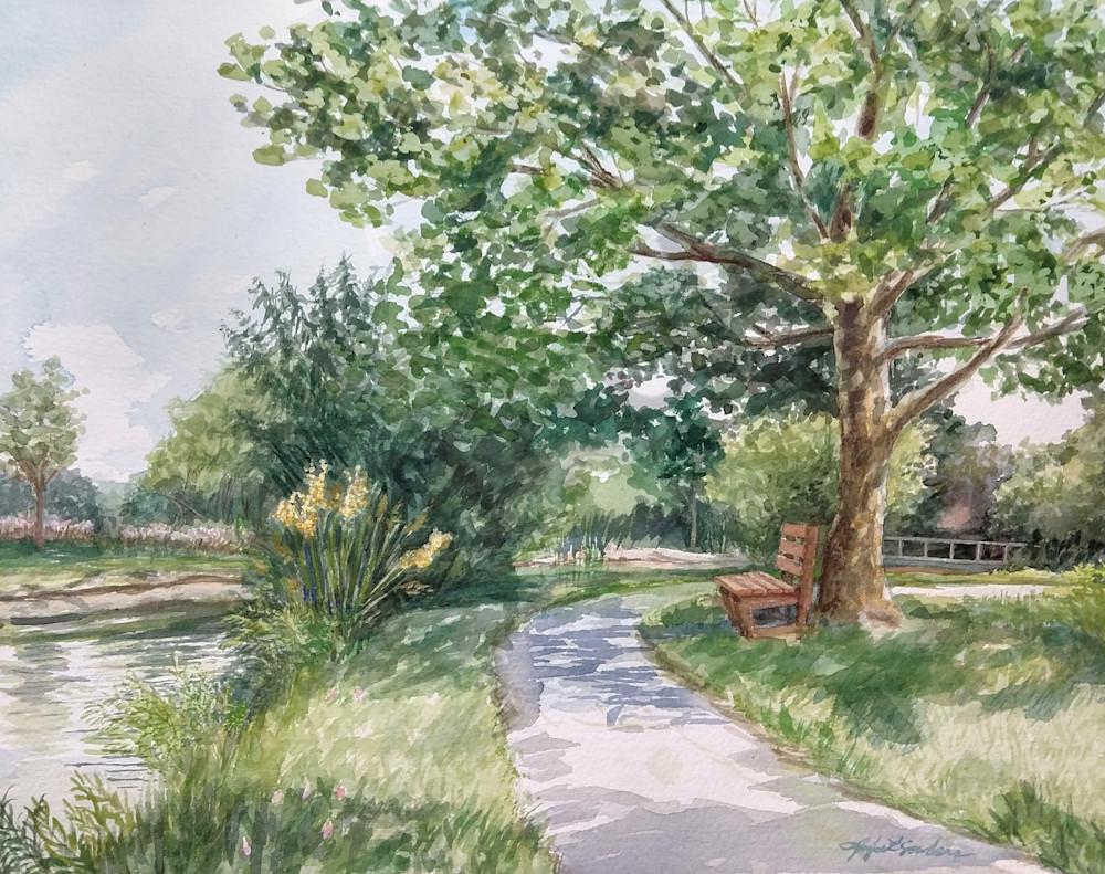 """Riverbend"" by Jennifer Sowders | Prophetics Gallery"