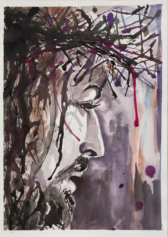 """Crown of Thorns"" by Australian Artist Cindy MacDonald | Prophetics Gallery"