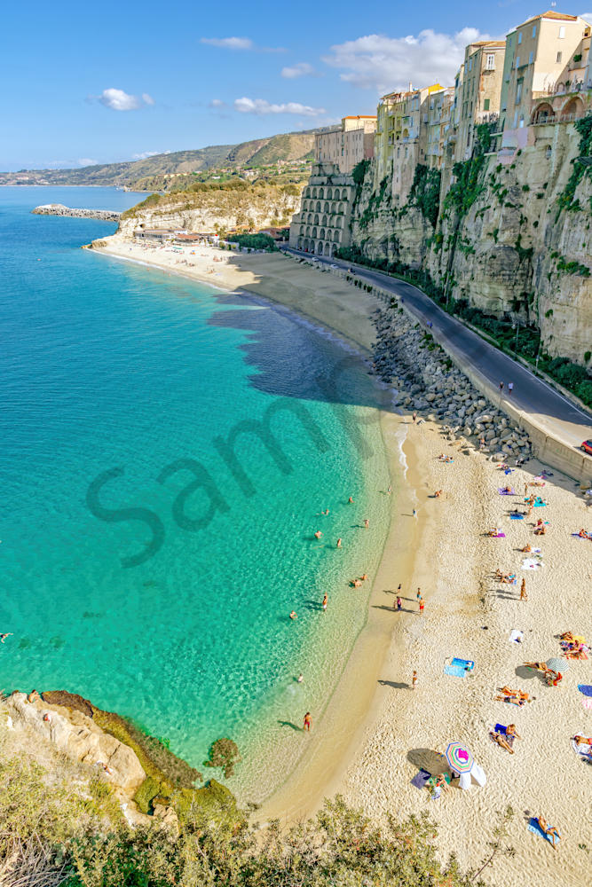 Santa Maria dell'Isola Church, Calabria, Italy, Bathing Place, Southern Italy,  clifftop historic center, Ancient Greek, Reef Beach