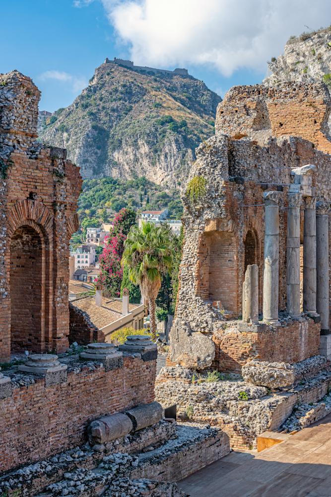 Greek Amphitheater, Taormina, Sicily, Italy