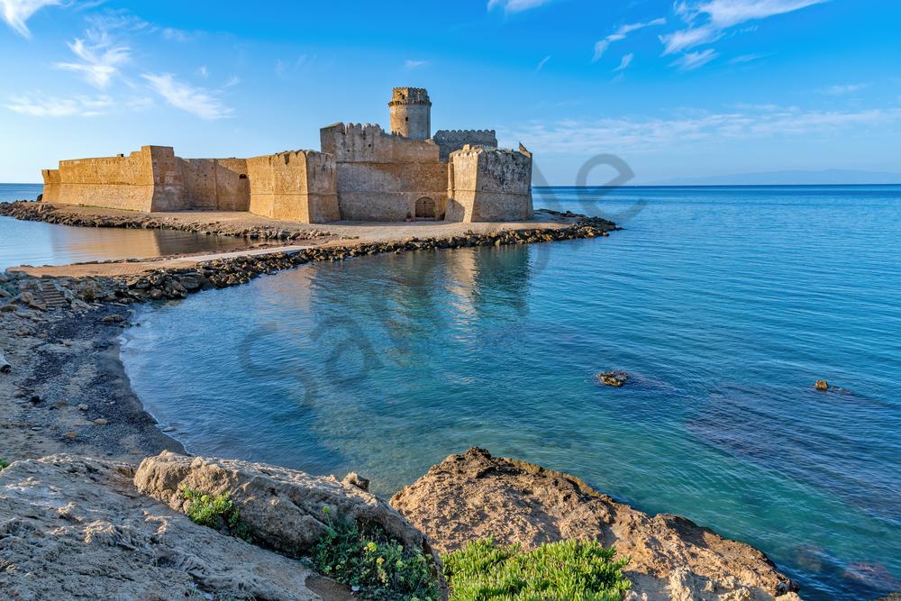 Castle, Calabria, Crotone, Fortezza Aragonese, Castello Aragonese di Le Castella, Italy