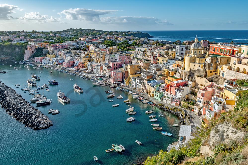 Flegrean Islands, Bay of Naples, Mediterranean Paradise, Benedictine abbey, Southern Italy