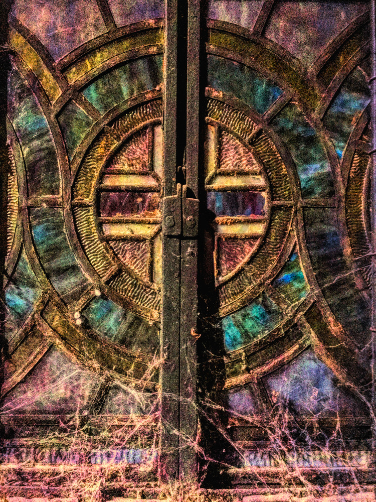 Cobwebs and Stained Glass|Fine Art Photography by Todd Breitling