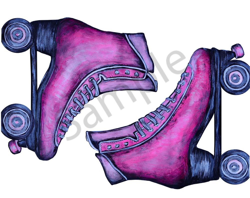 Rollerskates Art | Art By Dana
