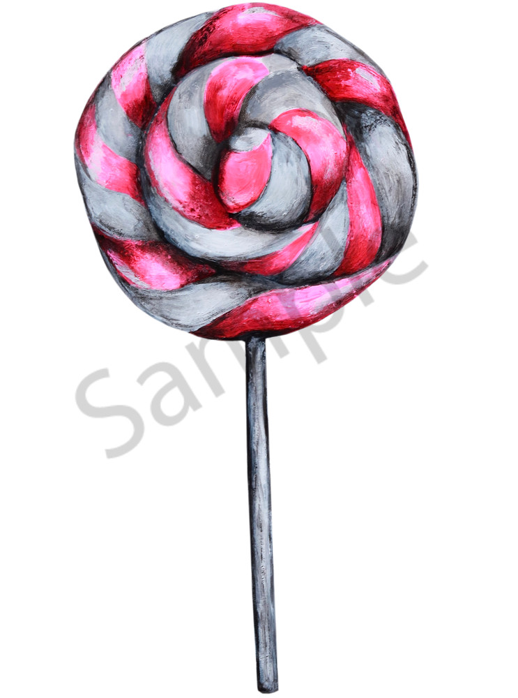 Lollipop Art | Art By Dana