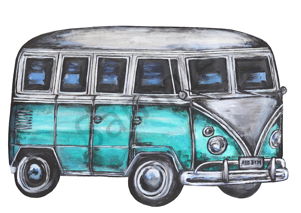 Hippy Van 2019 Art | Art By Dana