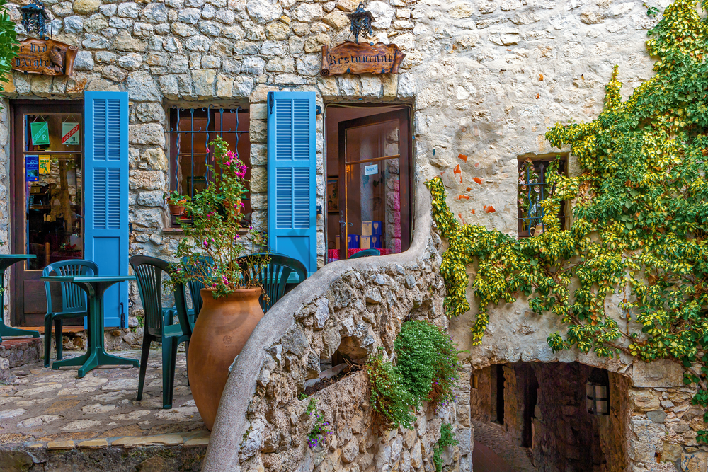 Provence, Southern France, Eze,  medieval village, French Riviera